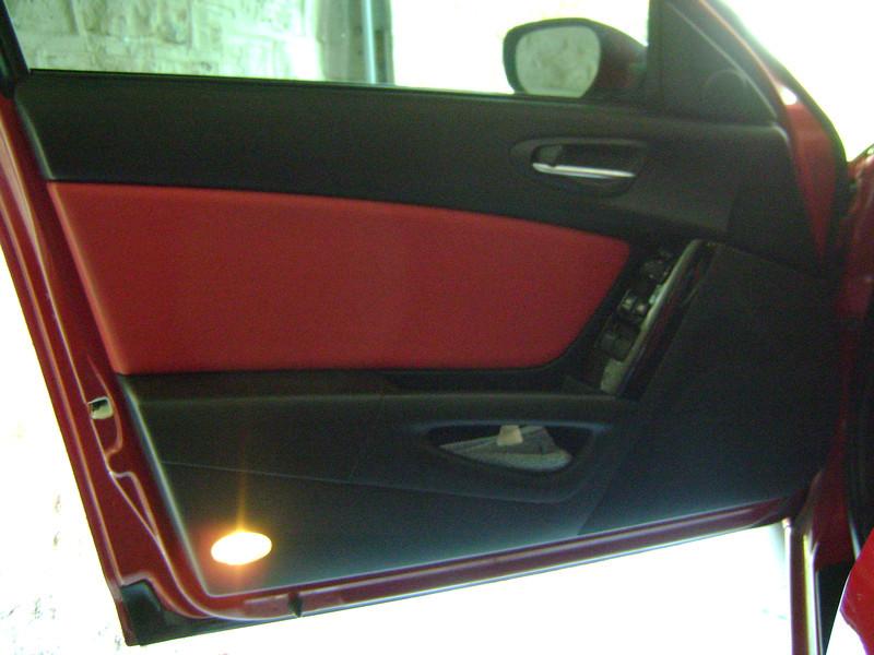 Left door panel