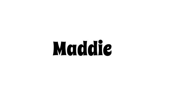 Mazel Tov Maddie