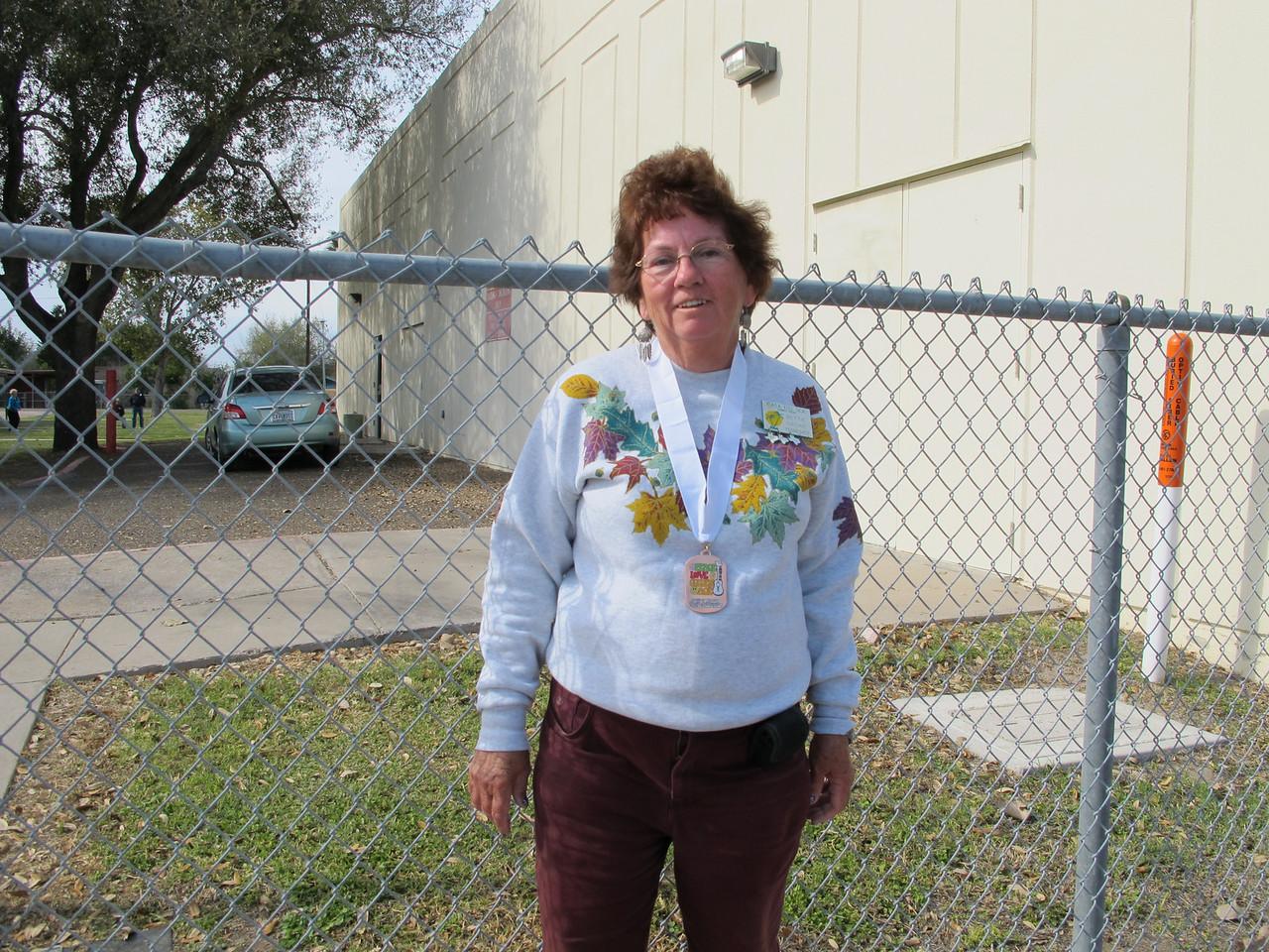 Ladies Washers - Third Place Winner<br /> Betty Crowe - Casa Del Sol RV Park