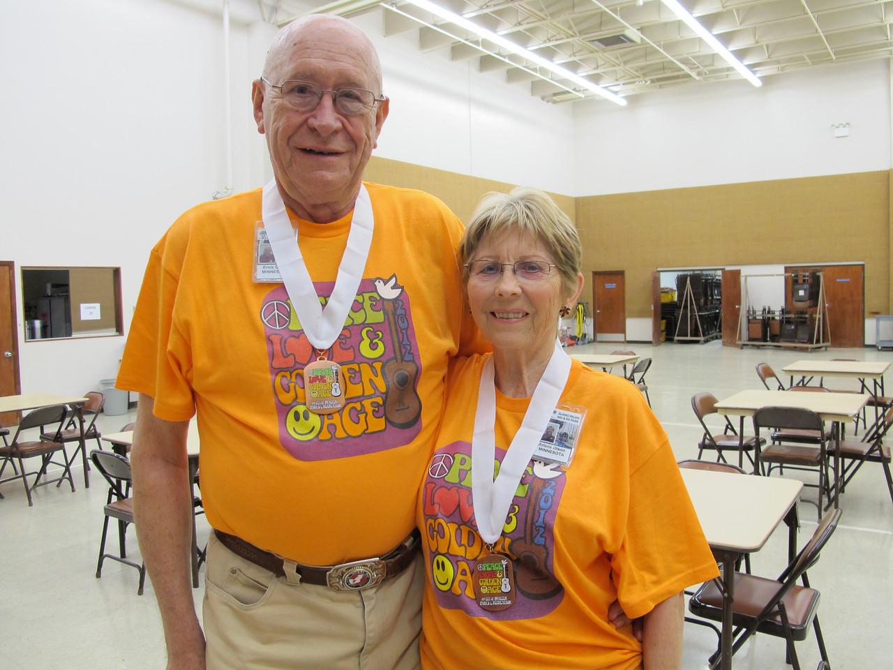 Duplicate Bridge 3rd Place - Arlene & Ernie Olson (Alamo Palms)