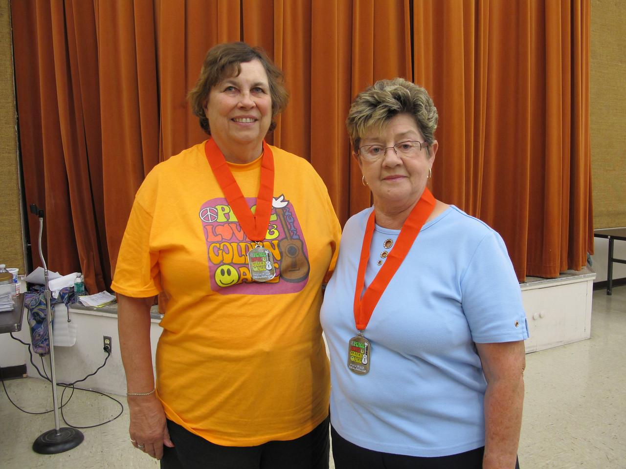 Duplicate Bridge 2nd Place - Joyce Zimmer (Meadow Valley) & Linda Ingrahm (Seven Oaks)