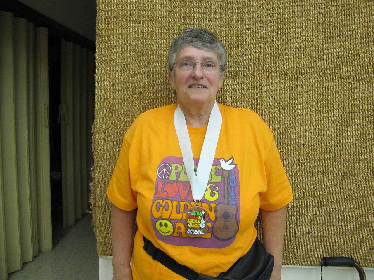 Women's Cribbage 3rd Place - Bonnie Parsons (Casa Del Sol)