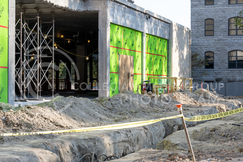 McCain Auditorium lobby expansion project. Oct 8, 2020. (Dylan Connell | Collegian Media Group)