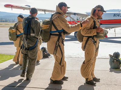 McCall Smokejumpers; Payette National Forest, Idaho, July 2, 2014