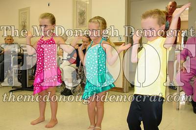 McCance Dancers Perform at PC Nursing Home 08-16-06 013
