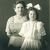 Margaret Mullen McCarthy with young Eleanor, JD's sister