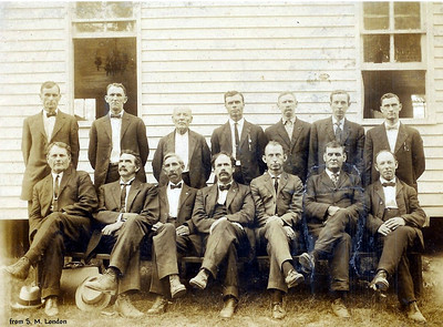 Hopkins County General Baptist Ministers; Lee Hankins - front row 2nd from right