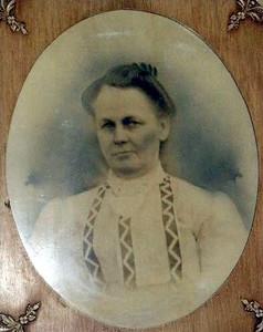Samantha Petty Hankins (photo of portrait)