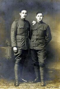 Elvie & Jimmy Hankins - WW I