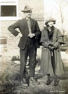 John & Margaret Hankins (John - s/o Lee & Samantha; Margaret - w/o John's brother, Perry)