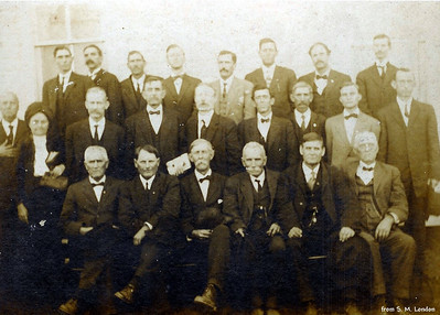 Hopkins County General Baptist Ministers; Lee Hankins - front row, 2nd from right
