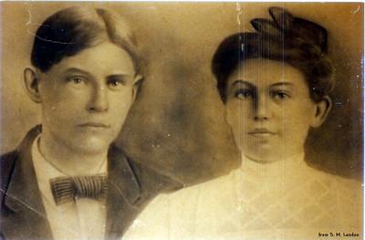 John C. & Gertie Tapp Hankins (John - s/o Lee & Samantha)