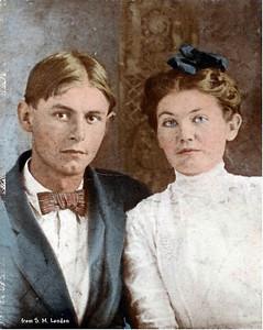John & Gertie Tapp Hankins (John - s/o Lee & Samantha)