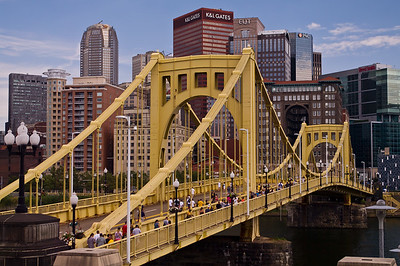 Roberto Clemente Bridge, Pittsburgh, PA