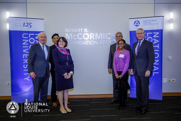 McCormick Atrium Naming Ceremony   October 11, 2018
