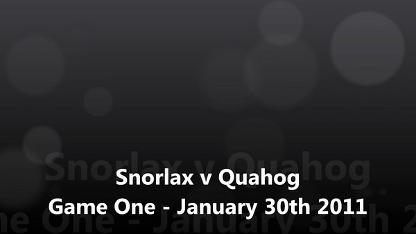Snorlax v Quahogs playoff game