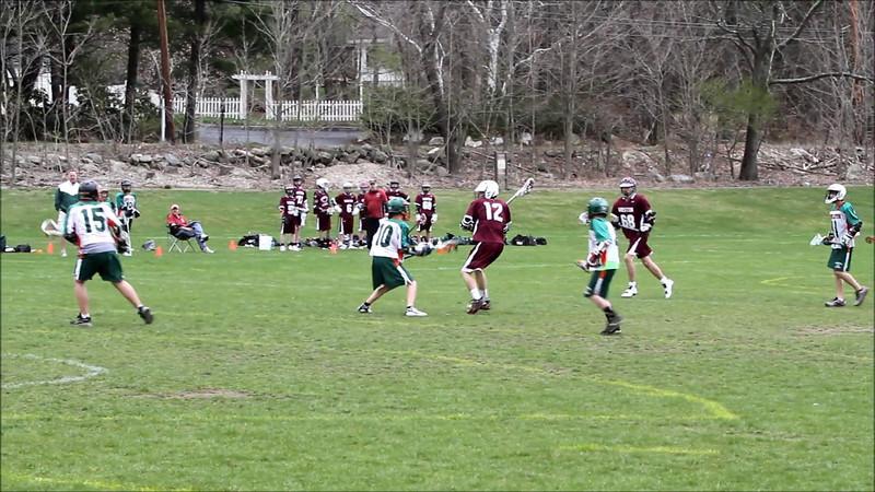 McCrae Weston U15 vs Hopkinton April 1 2012