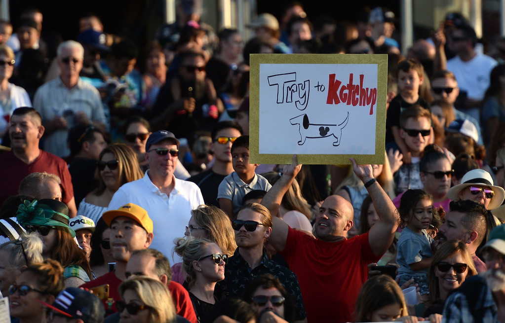. in the 22nd Wienerschnitzel Wiener Nationals at Los Alamitos Race Course Saturday, July 22, 2017, Los Alamitos, CA.  (Photo by Steve McCrank, Daily Breeze/SCNG)