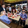 McDonald's held a ribbon cutting for their newly remodeled North Main Street location on Friday morning. Owner David Yee chatted with customers after the ribbon cutting. SENTINEL & ENTERPRISE/JOHN LOVE