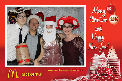 Photo Strips from McDonald's McFormal 2016