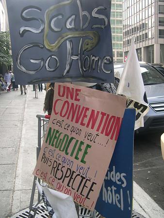 Omni Hotel Protest