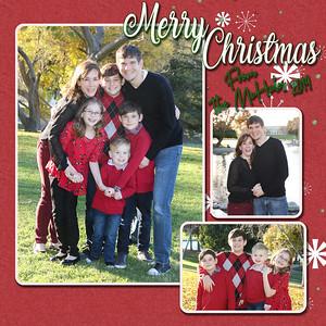 Family Christmas Card Digital