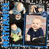Baby Nate Scrap page