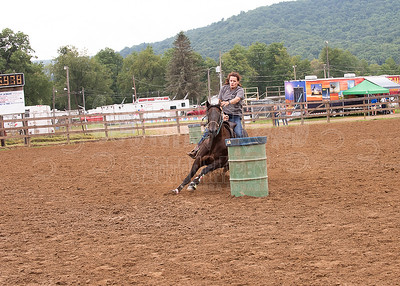 McKean County Fair 4-H/Open Horse Show-Barrels-August 14, 2018-Unedited
