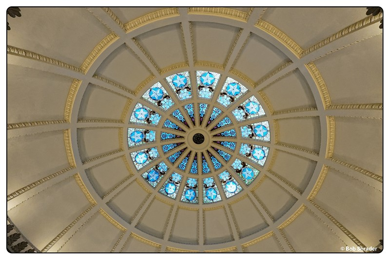 Stained Glass in Dome