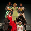 Theater promo shots for the McLeod Summer Playhouse, featuring Oklahoma, Charlotte's Web, Spamalot and Anything Goes.