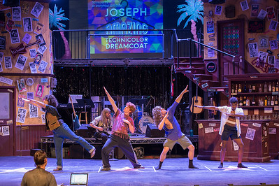 Rock of Ages dress rehearsal