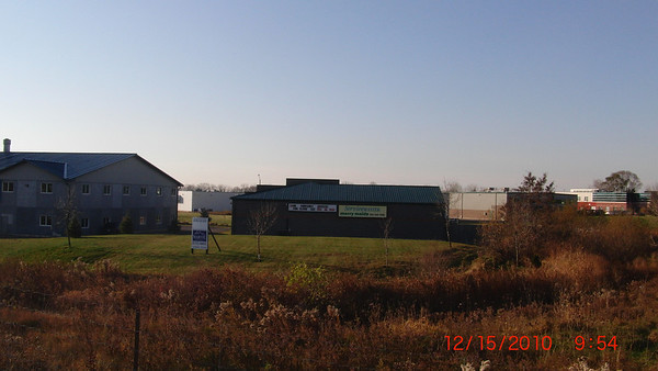 View of warehouse from Highway 6