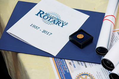 McMullen named Rotary Paul Harris Fellow