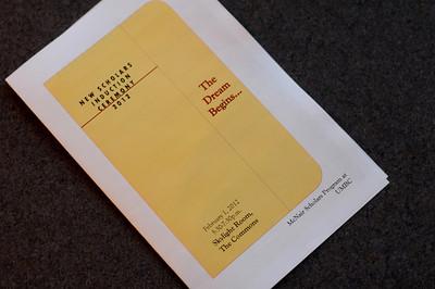2012 New Scholars