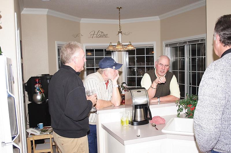 Ed Hyden, Rick Watson, Wayne Wellin
