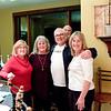 Nancy Gabriel (Pierce), Jan Hartley (Naughton), Larry Thies, and Judy Bowerly (Luse)