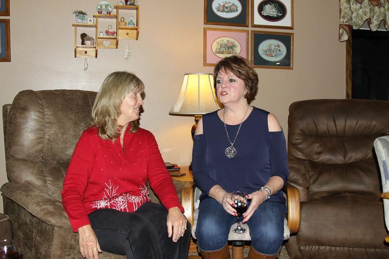Judy and Marlene