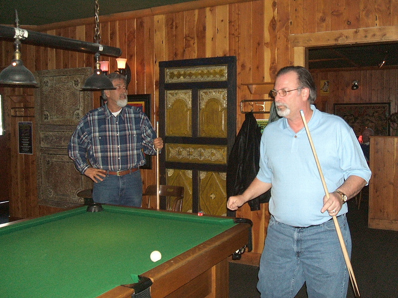 Greg Barnwell and Bob Kitchen