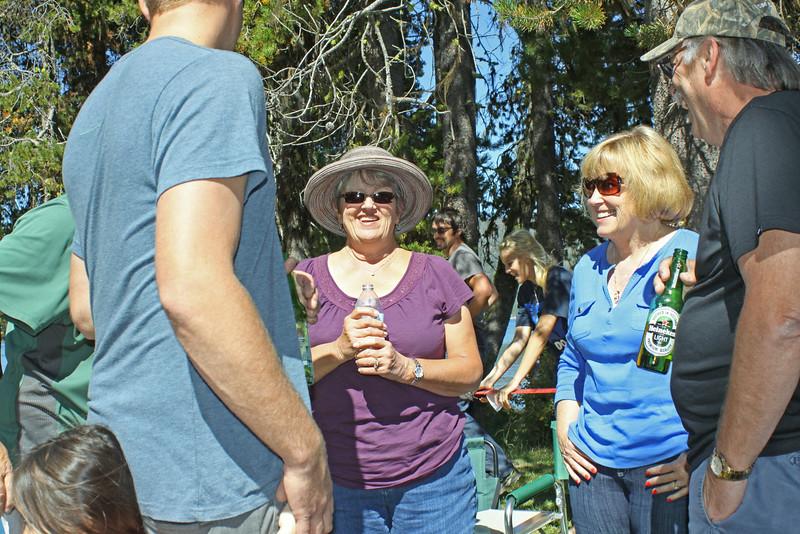 Dana Drees, Nancy Gabriel, and Bob Kitchen
