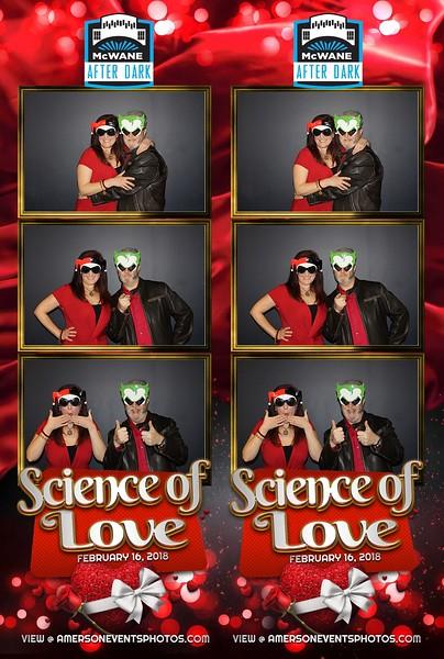 McWane Science Center Science of Love 2018