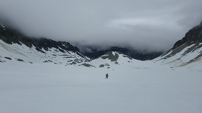 walking bomber glacier