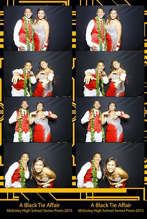 Mckinley Senior Prom 2015 (Fusion Photo Booth)