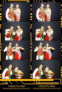 Mckinley Senior Prom 2015 (Fusion Photo Booth)