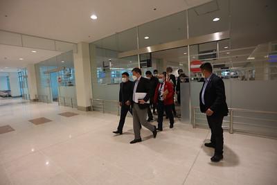 2021 оны зурагдугаар сарын 11. Ерөнхий сайд Л.Оюун-ЭрдэнэХөшигийн хөндийн нисэх онгоцны шинэ буудлын ажилтай танилцлаа. ГЭРЭЛ ЗУРГИЙГ/MPA