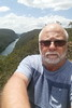 29/10/2017 - Selfie taken at The Rock Lookout over the Nepean River at Nepean Gorge (aka Fairlight Gorge)