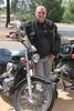 05/11/06 - Daddyo next to his bike.