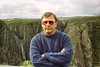 1997 Jul - Mark at Wollomombi Falls, Dorrigo Plateau