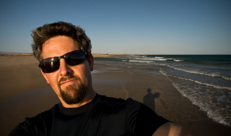 A late afternoon self-portrait of me on the Gulf of Aden coast just outside of town.<br /> <br /> Location: Berbera, Somalia (Somaliland)<br /> <br /> Lens used: 10-22mm f3.5-4.5