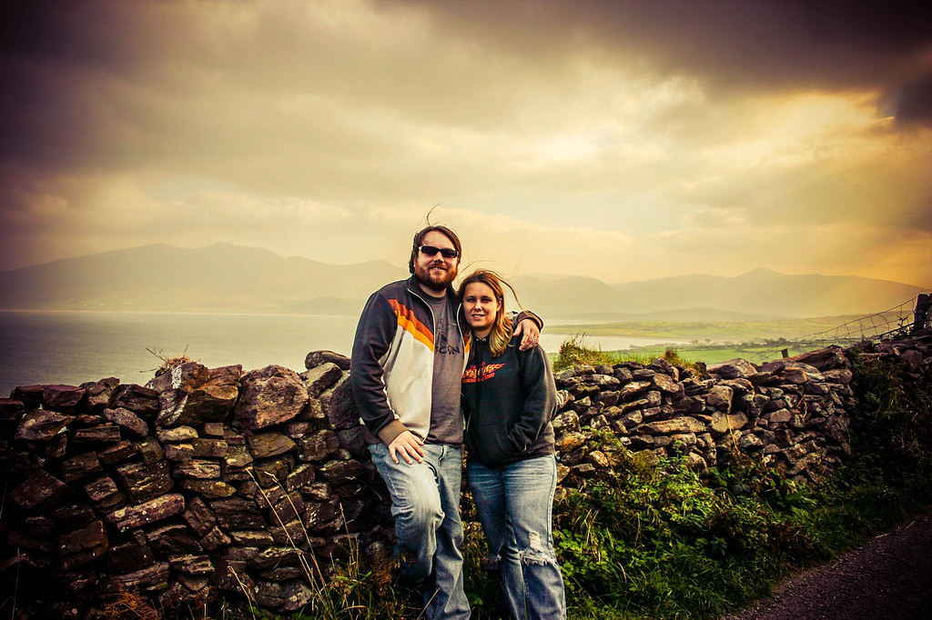 Me and my love in Ireland