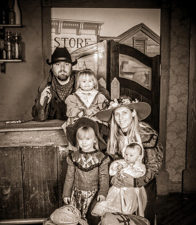 Knott's Berry Farm Old Time Photo